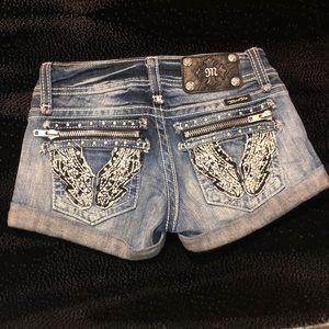 MissMe size 24 jean shorts